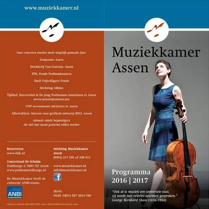 11 December 2016: Muziekkamer Assen